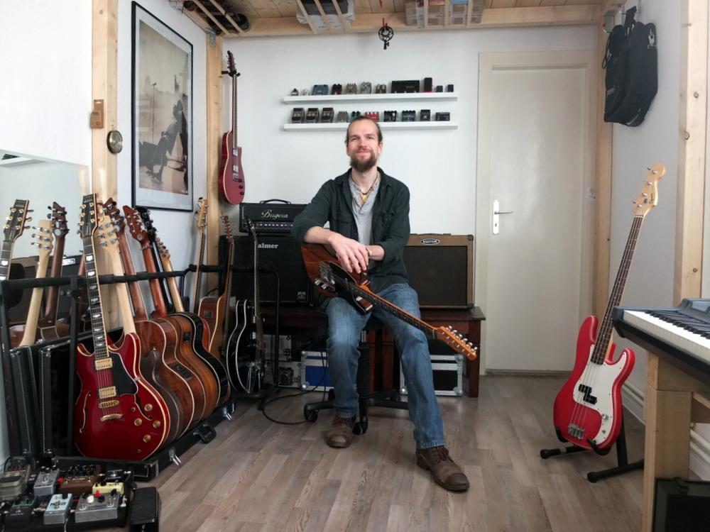Timo Laue Gitarre Bass Klavier Unterricht Raum